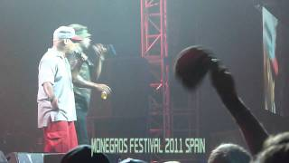 Busta Rhymes What It Is Right Now. live in monegros festival (spain)