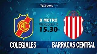 Colegiales vs Barracas Central full match