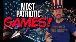 Most AMERICAN 4th of July Video Games!