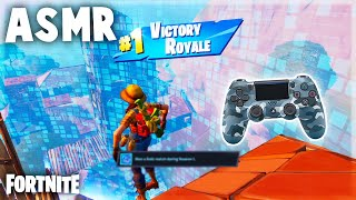 ASMR Fortnite Chapter 2 - First Solo Win in Chapter 2! - 🎮 Controller Sounds + Whispering