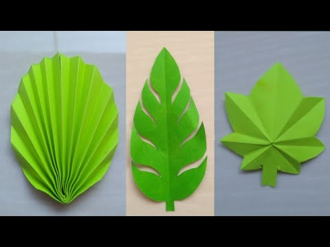 How to make paper Leaves |69|