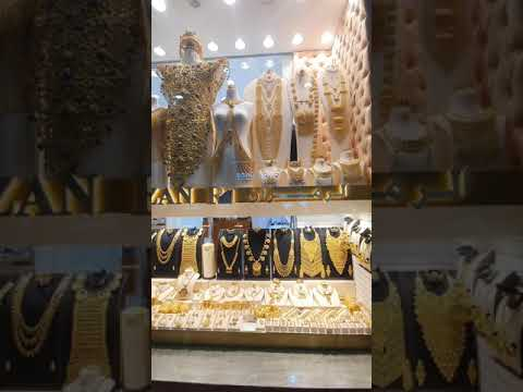 a glimpse in grand souk and gold souk dubai 2020