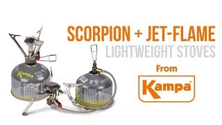 Kampa | Scorpion & Jet-Flame Lightweight Stoves | Product Overview