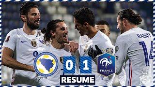 Bosnie Herzegovine 0 1 France le re sume