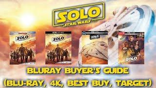 SOLO: A STAR WARS STORY - 4K/BLURAY UNBOXING (BLU, 4K, BEST BUY, TARGET) BLURAY BUYERS GUIDE