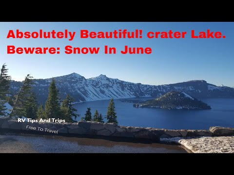 Places To Camp: Crater Lake N.P.