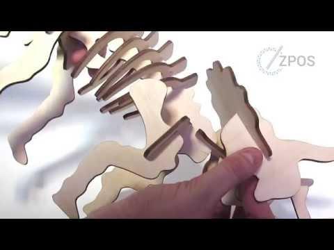 Лазерная резка игрушек из фанеры по чертежам