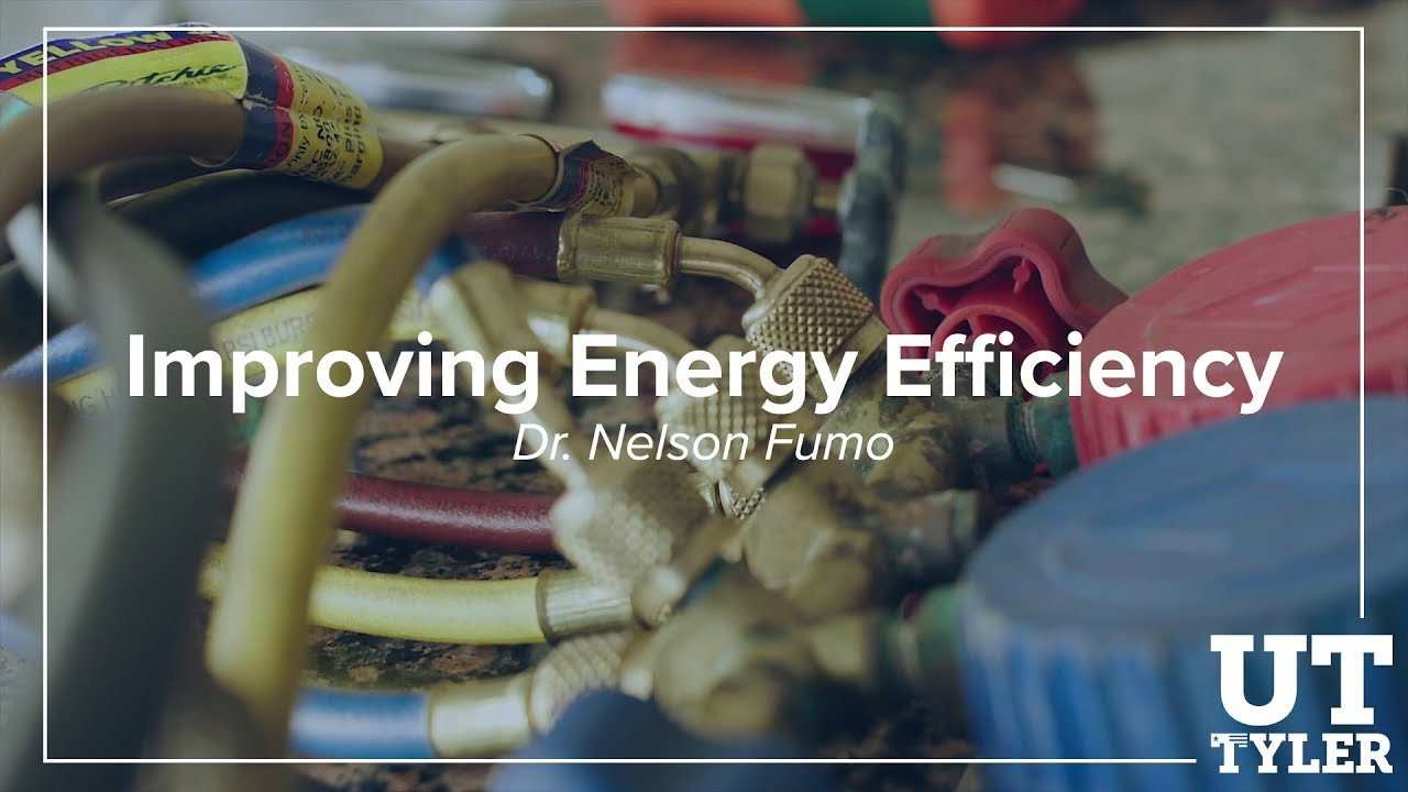 Improving Energy Efficiency in Homes - Dr. Nelson Fumo