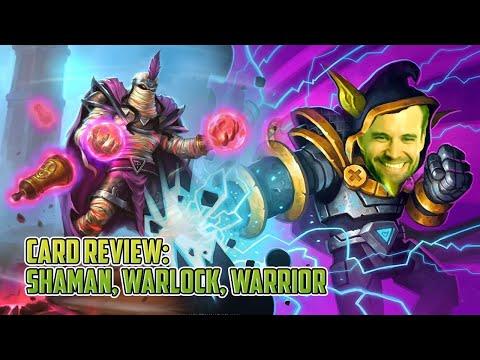 (Hearthstone) Saviors of Uldum Review: Shaman, Warlock, Warrior