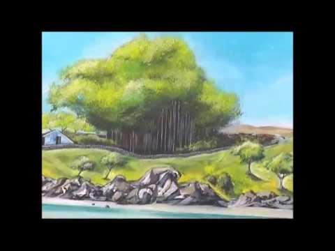 DWS Artist Paintre Horspaire de Ile Rodrigues