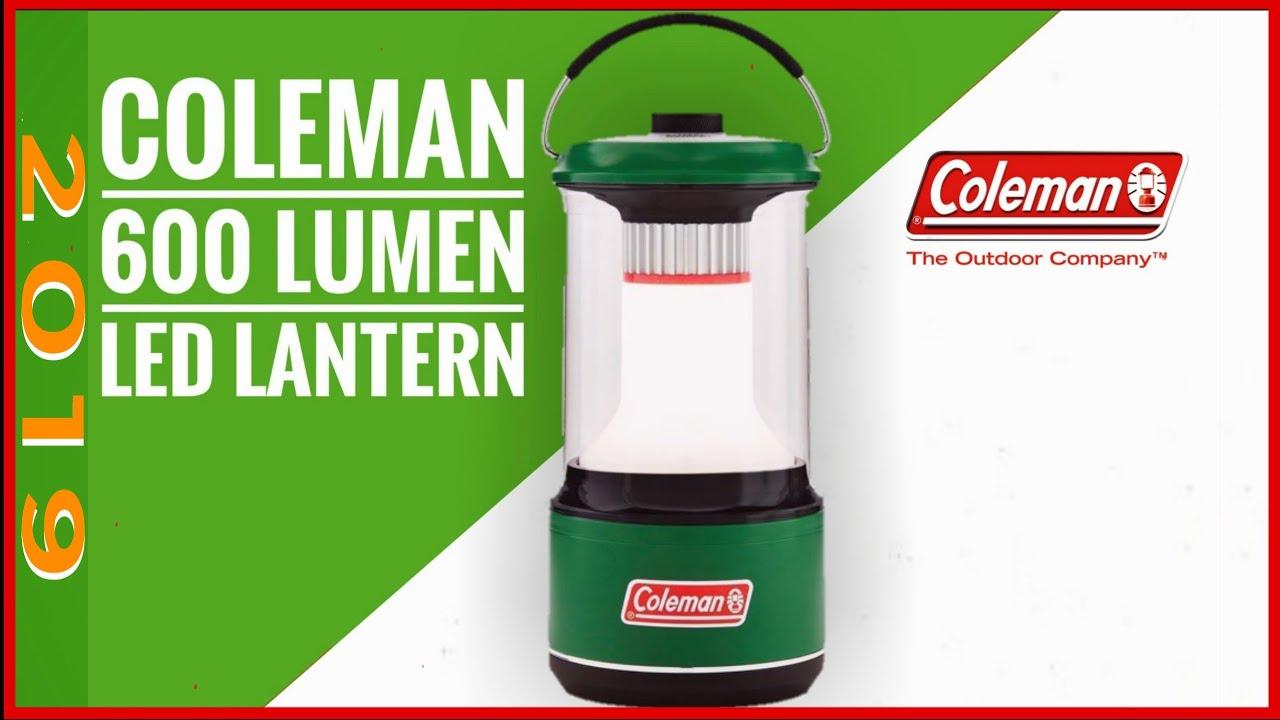 The best new car camping lantern 2019, The Coleman 600 lumen lantern first  look