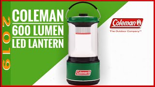 The best new car camping lantern 2019, The Coleman 600 lumen lantern first look