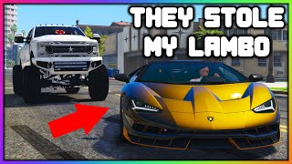 GTA 5 Roleplay - They Stole MY Lamborghini Centenario | RedlineRP