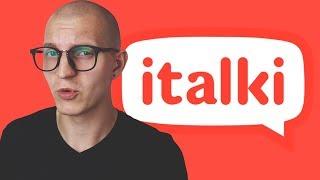 ПОЛНЫЙ ОБЗОР ITALKI -  2 недели на сервисе и занятие с носителем (2018) [ПЭМ2 #19]