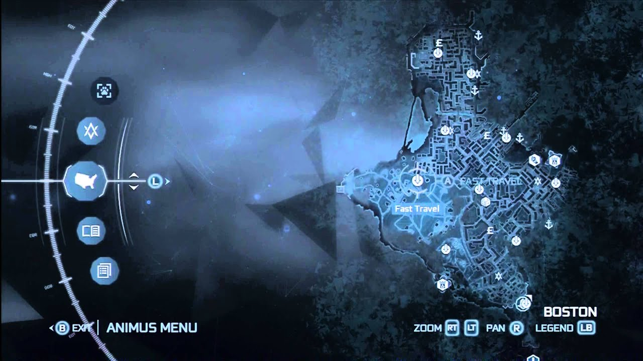 AC3 MAP OF FAST TRAVEL LOCATIONS BOSTON   YouTube