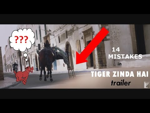 Tiger Zinda Hai Trailer Mistakes ||...