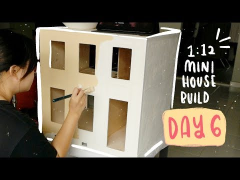 mini-house-making---day-6-(exterior-decor:-painting-+-cutting-pilasters)