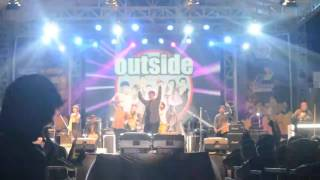 OUTSIDE band - DN Smada Kediri 2015 | Mahakarya Nusantara (traditional - modern party)