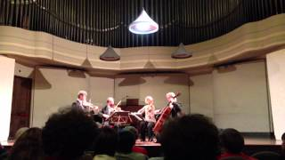 """Quartetto Hagen: """"Presto"""" dal Quartetto nr.13 in Si bemolle maggiore, op.130 di Beethoven (dal vivo)"""