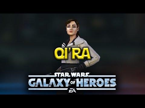 Qi'ra Gameplay - Star Wars: Galaxy Of Heroes - SWGOH