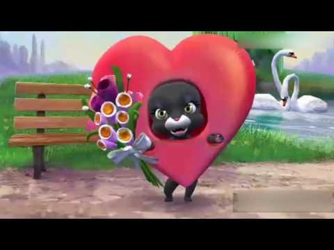 '14 февраля-Поздравление с Днем Святого Валентина-С Днем Влюблённых!!!!' - Простые вкусные домашние видео рецепты блюд