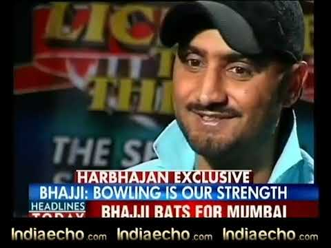 Indiaecho.com - Harbhajan Singh Exclusive Interview