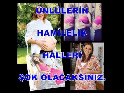 Ünlülerin Hamilelik Halleri !!!