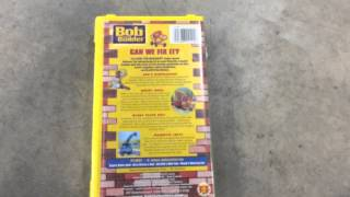 Bob The Builder Can We Fix It? 2001 VHS