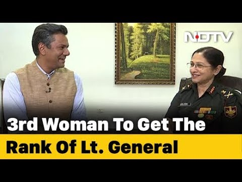 """Not Challenge, An Opportunity"": Third Woman Gets Rank Of Lieutenant General"