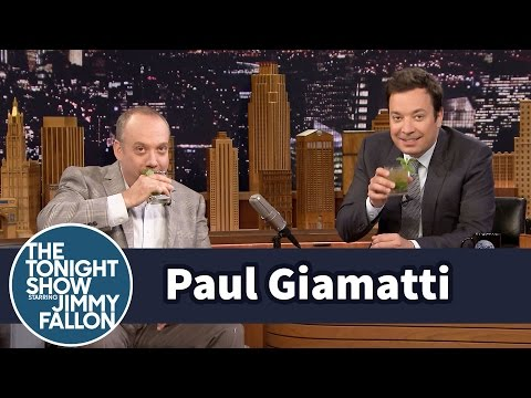 Paul Giamatti and Jimmy Sip Mint Juleps and Pick Kentucky Derby Winners