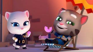 ГОВОРЯЩИЙ ТОМ и ДРУЗЬЯ ЗА ЗОЛОТОМ Челлендж #3 Котенок в ТЮРЬМЕ для детей Игровой мультик #Малышерин