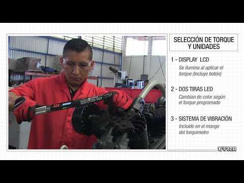 Torquimetros Electronicos – Guia Tecnica URREA México