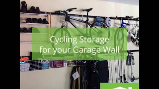 Cycling Storage Solutions for your Garage Wall