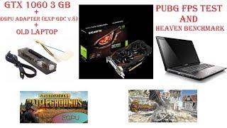 GTX 1060'ı Aldık Laptop'a Bağladık !! (eGPU Harici Ekran kartı)!! Pubg FPS Testi - Heaven Benchmark