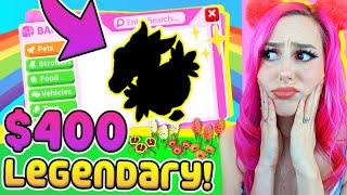 I Had To Pay $400 For THESE Legendary Pets! (Roblox Adopt Me) *75,000 SPENT*