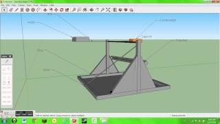Trebuchet: Sketchup Design
