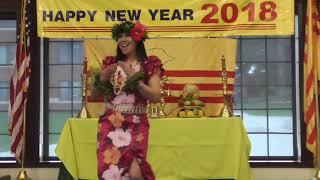 3. Kaimiola Polynesian Dance (Múa) [Xuân Mậu Tuất 2018 ở Tacoma]
