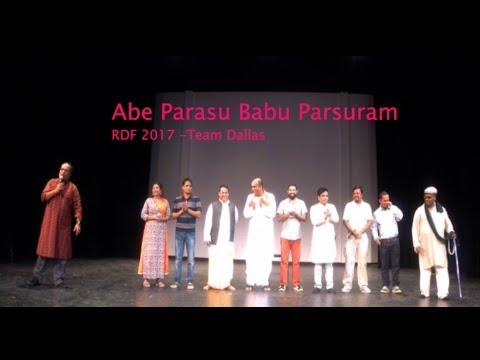 RDF2017- Dallas Drama- Abe Parasu Babu Parsuram