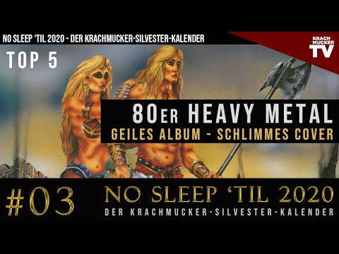 TOP 5 HEAVY METAL 80er COVER TRASH | #03 Krachmucker-Silvester-Kalender