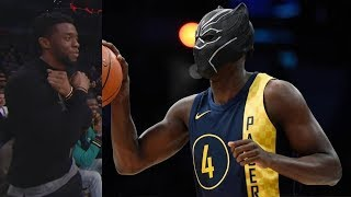 Black Panther Dunk! NBA All-Star Slam Dunk Contest 2018! Video