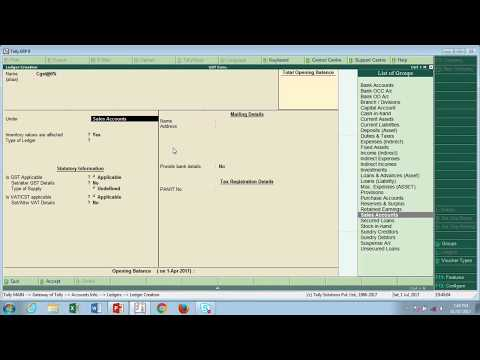HOW TO ENTER HSN CODE IN TALLY ERP 9 with Printout