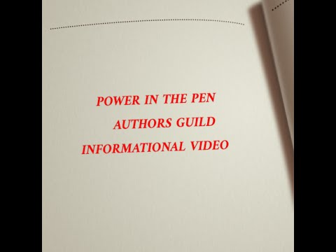 Power In the Pen Authors Guild