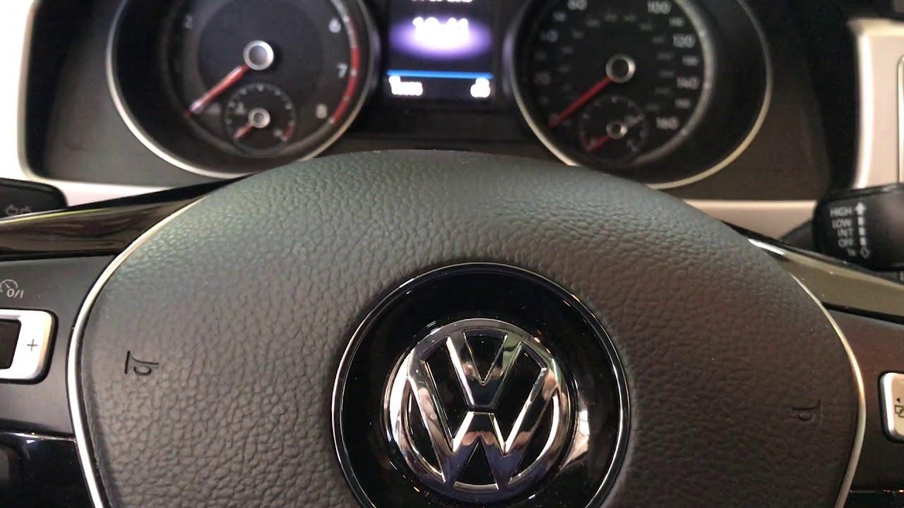 2018 VW Atlas Oil Light Reset
