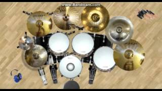 Video Andra Band - Sunyi DV Drum Cover download MP3, 3GP, MP4, WEBM, AVI, FLV Agustus 2018
