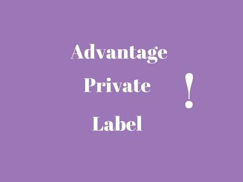 Private Label Advantages