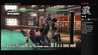 Dead or alive free only on Ps4