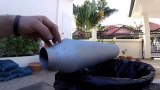 Пламегаситель своими руками (фото, видео)