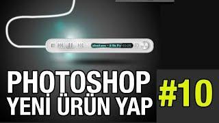 Photoshop 10 Mp3 Player Yeni Ürün Oluşturma