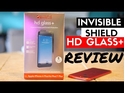 Invisible Shield HD Glass+ Review – Best Screen Protector for iPhone 7 Plus