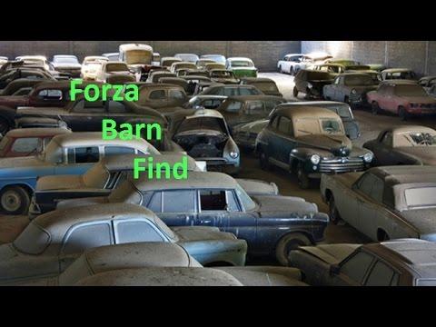 Montellino Barn Find #1 Forza Horizon 2 - YouTube
